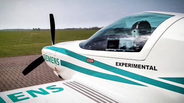 Siemens-Powered eFusion Electric Airplane