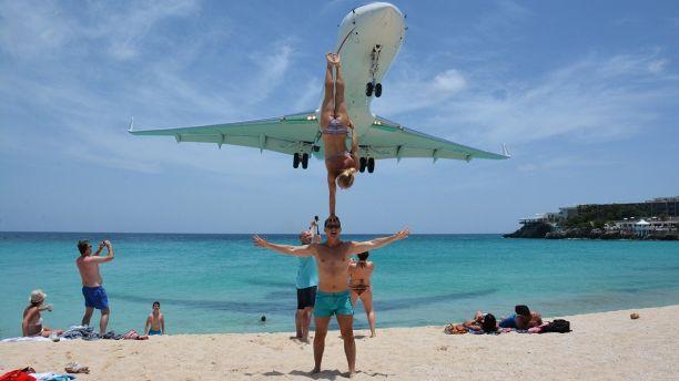acrobatic couple criticized for