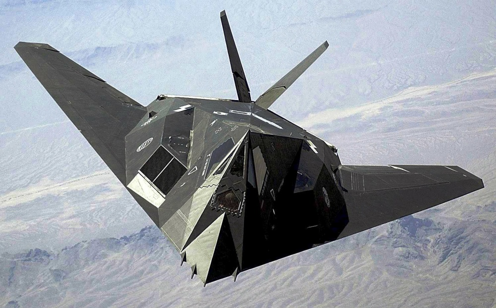 Flying retirement? F-117 Nighthawk spotted in the skies near 'Area 51'