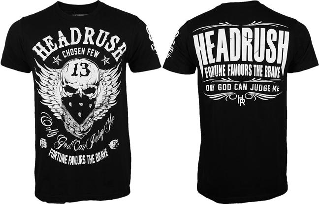 Headrush T Shirts Fall Collection