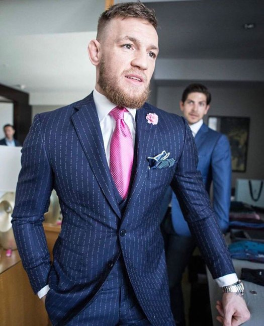 conor mcgregor fuck you suit
