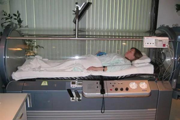 Thérapie Chambre d'oxygène