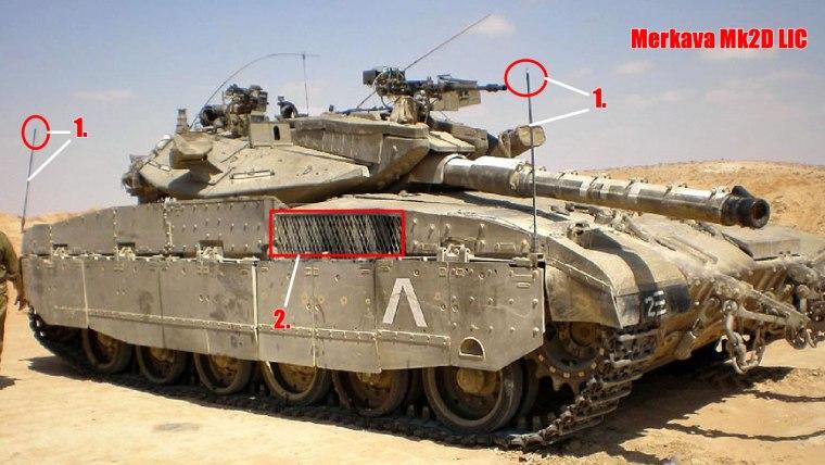 Merkava Mk2D LIC