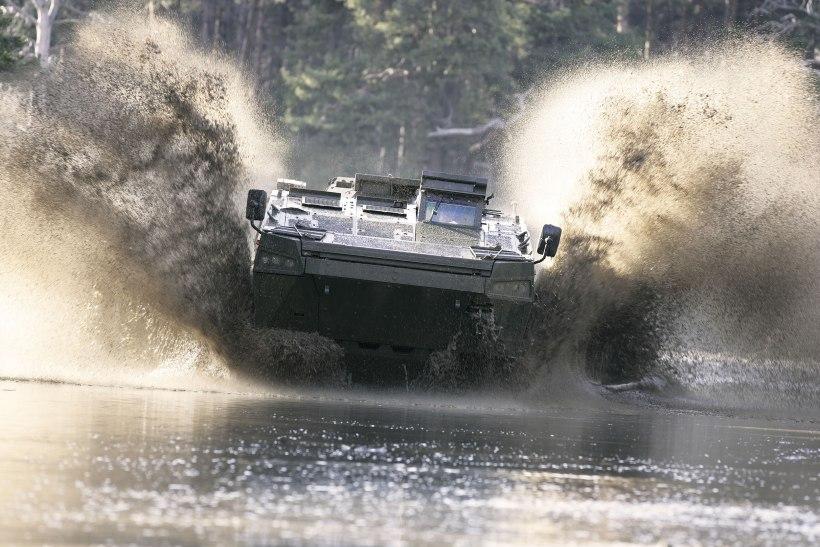 Patria AMV Armored Modular Vehicle