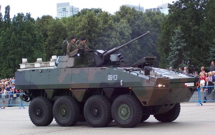 KTO Rosomak with Hitfist-30P Turret