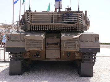Merkava Mk 4 Tank Rear