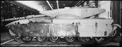 Merkava Tank prototype