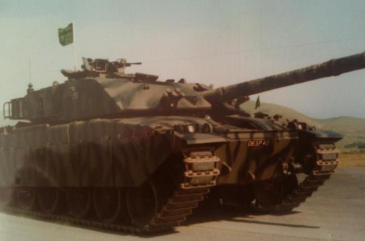 Challenger 1 Mk 1 Lulworth 1982