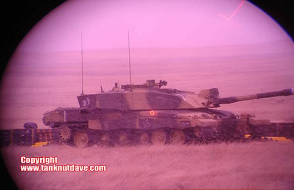 Challenger 2 Tank Gun Sight