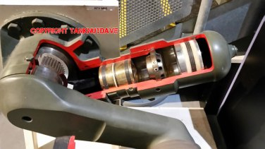 Challenger 2 Tank Suspension Close Up
