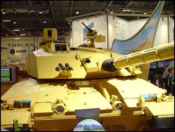 Challenger 2E Tank