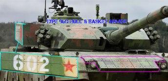 Type 96A Tank Armor Upgrade #2