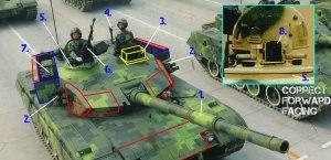 Type 96A Tank ERA Armor Overview