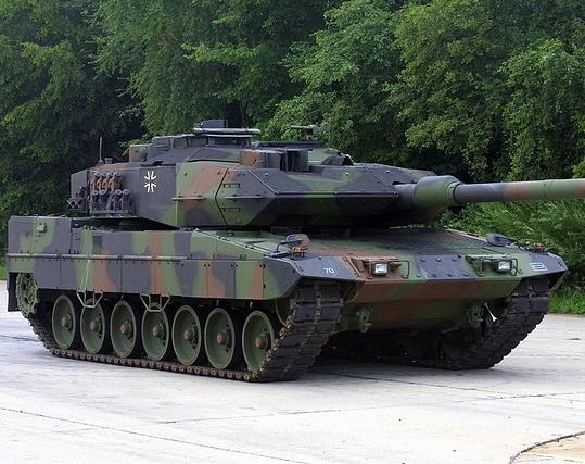 Leopard 2A6EX Tank