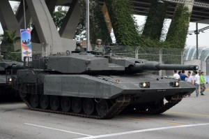 MBT Evolution - Singapore Leopard 2SG