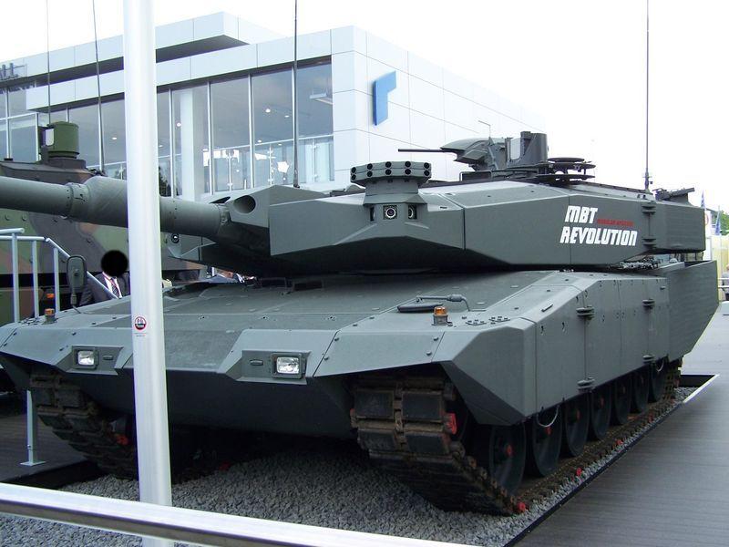 Leopard 2 MBT Revolution