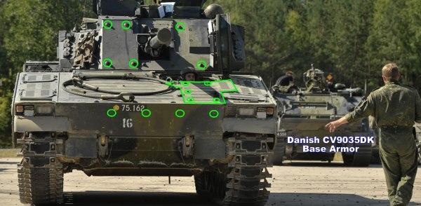CV9035DK Base Armor