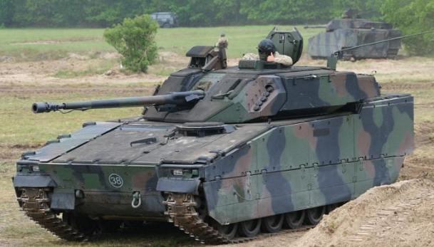CV9035NL Up-Armored Netherlands