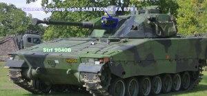 Combat Vehicle 90 - Mk0 Strf 9040B
