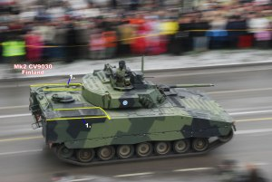Combat Vehicle 90 - Mk2 CV9030