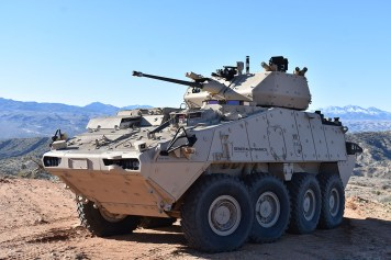 LAV 6.0 with the PROTECTOR MCT-30 Turret