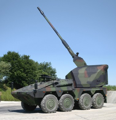 Artec Boxer Self Propelled Gun - Artillery Gun Module by KMW