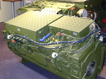 German Puma IFV SPz Schützenpanzer – Transmission
