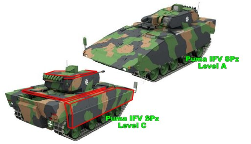 Puma IFV SPz Level A Modular Armor Explained (image 2)