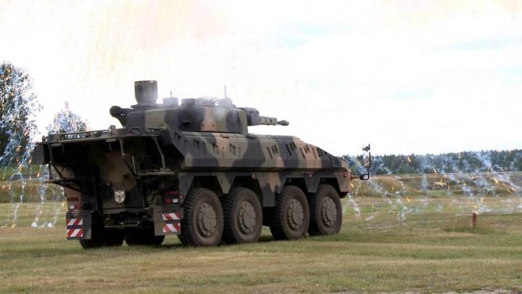 Rheinmetall Boxer IFV Model – Boxer Combat Reconnaissance Vehicle (CRV)