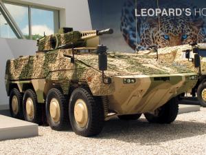 Rheinmetall Boxer IFV with Puma Turret
