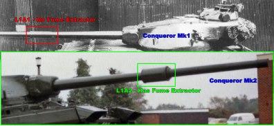 Conqueror Tank Mk1 and Mk2 Differences Image 4