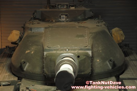 Conqueror Tank Mk2 - Commanders Sub Turret Front Imperial War Museum Duxford