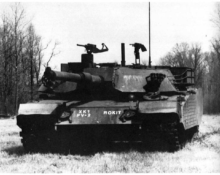 K1 Tank Prototype Image 1