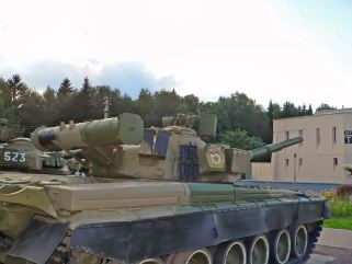 T-80B Tank Image #5T-80B Tank with 20mm appliqué armor on the hull front