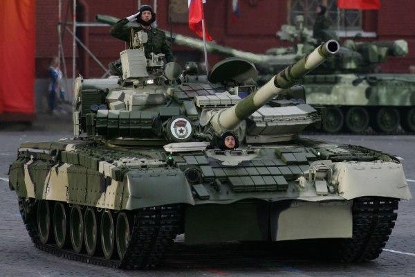 T-80 Tank model the T-80BV