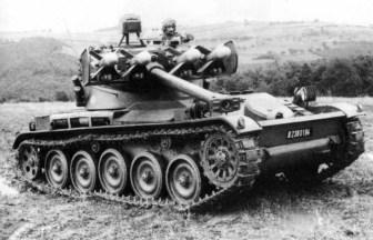 AMX-13-75 Light Tank (T75) Char Lance SS-11 Anti-Tank Guided Missile