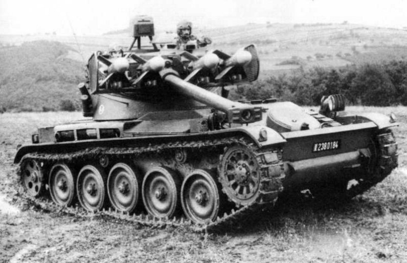 AMX-13-75 Light Tank (T75) Char Lance SS-11 Anti-Tank Guided Missile