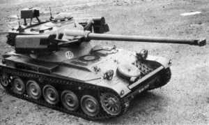 AMX-13-75 Light Tank With HOT Anti-Tank Guided Missile (2)