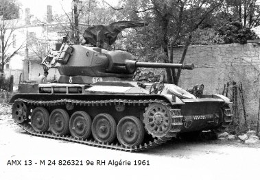 AMX-13 Light Tank Hull with Chaffee Turret