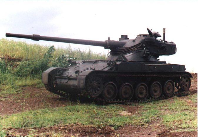 NIMDA AMX-13-75 Light Tank Modernization Program (Israel)