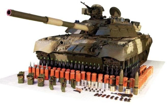 T-80UD Diesel version of the T-80U TankTank