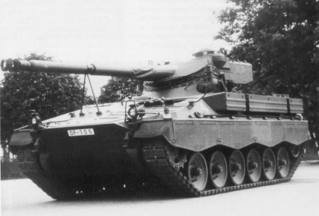 AMX-13-105 Tank model DF-105-Combat-Tank