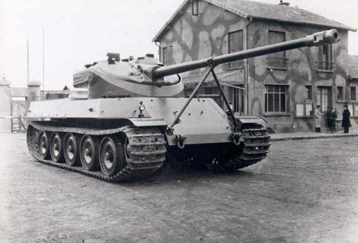 French AMX-50 Tank - Chad M4