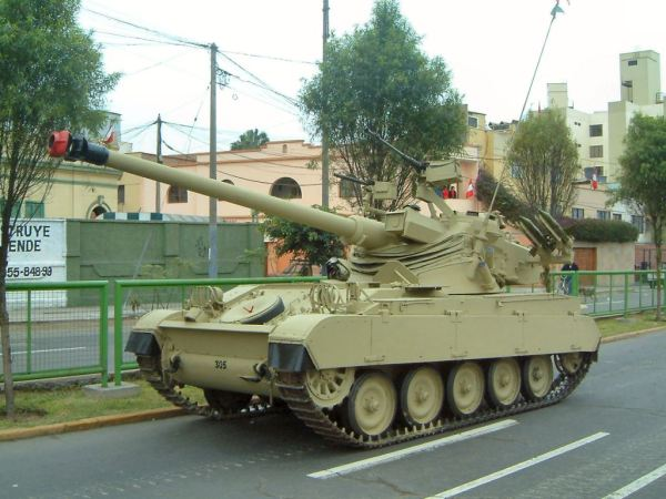 Peru AMX-13-105 Tank upgrade the AMX-13PA3 Escorpion