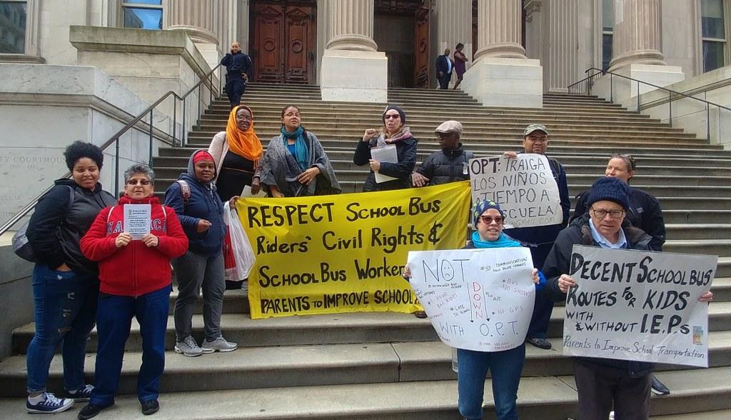Parents demand School Bus Bill of Rights
