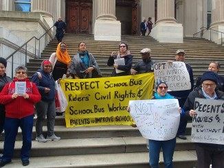 Parents demand School Bus Bill of Rights