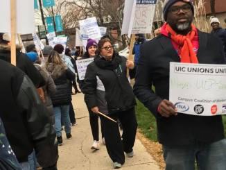 Chicago LPN strikers Nov 2018