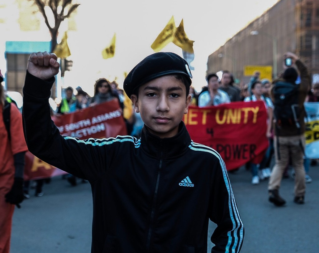 MLK Oak march youth by Amir Saadiq