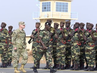 AFRICOM in the Sahel by Seyllou/AFP