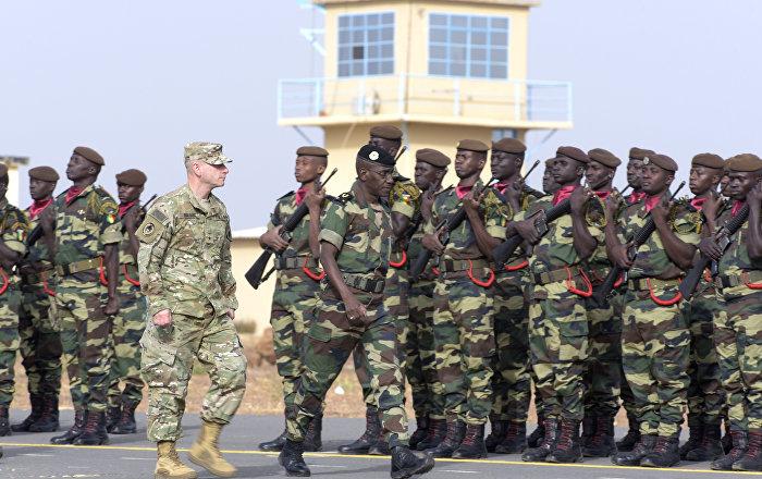 AFRICOM in the Sahel by SeyllouAFP